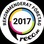 Rekommenderat företag reco dinelektriker 2017